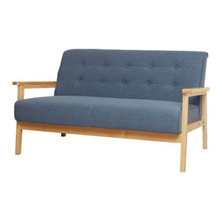 家具350 ソファ ソファー 2人掛けソファ 2人掛けソファー 2人掛け 2P 二人掛け ブルー 11212