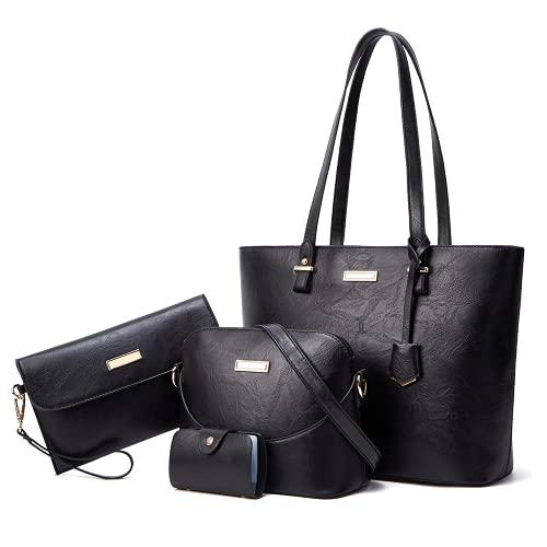 JBTFFLY Carteras y bolsos de mano para mujer Bolsos de hombro vintage Bolsos de noche