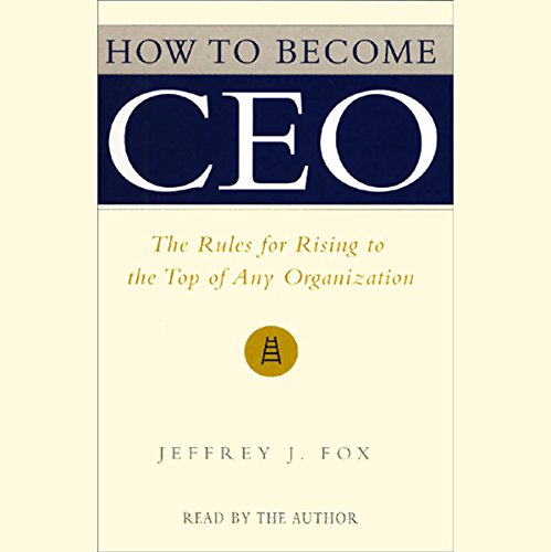 How to Become CEO audiobook cover art