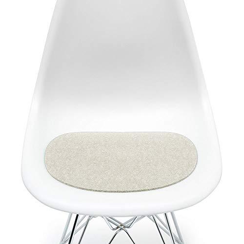 Hey Sign Sitzauflage marmor mit Antirutsch für Eames Plastic Side Chair