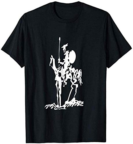 Don Quixote Painting Drawing Picasso Shirt - T Shirt For Men And Woman Team T-Shirts New Style Shirt For Girls Unique T-Shirts Birthday Gift T-Shirt T-Shirt