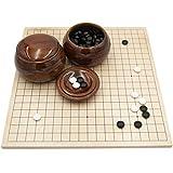 Go-Spiel: Studenten-Go-Set Deluxe (mit Glassteinen) -