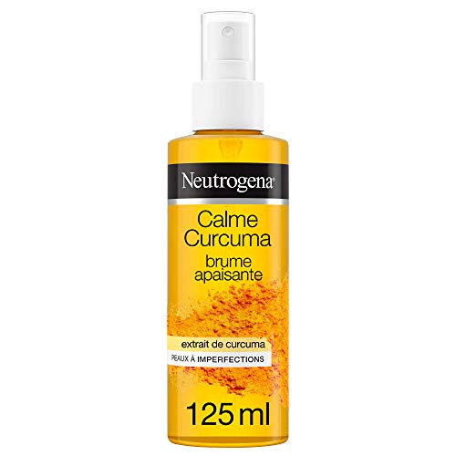 Neutrogena Calma Curcuma, Bruma calmante calmante para pieles imperfecciones, 125 ml