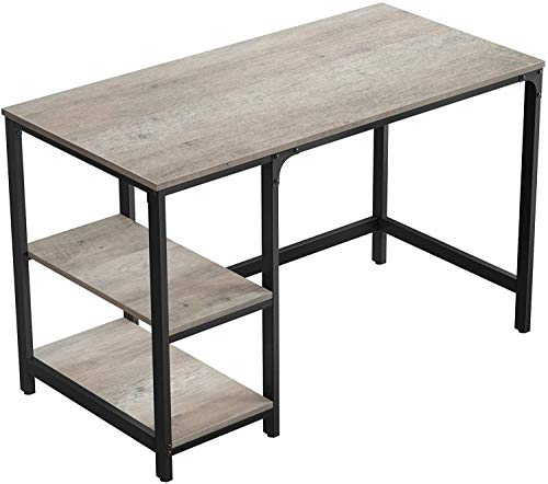Accommodate Large Living Room Office Computer Desk Computer Table, Steel Frame,B