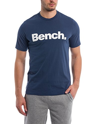Bench Basic Corp tee Camiseta, Azul (Dark Navy Blue Ny013), Medium para Hombre