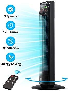 TaoTronics Oscillating Powerful Floor Fan