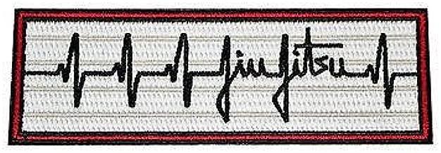 Artes marciales parche de Jiu-Jitsu brasile/ño hierro bordado//coser en insignia Applique 11/cm
