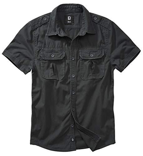 Brandit Camiseta vintage de manga larga y manga corta, tallas de la S a la 7XL Camiseta de manga corta XXXL