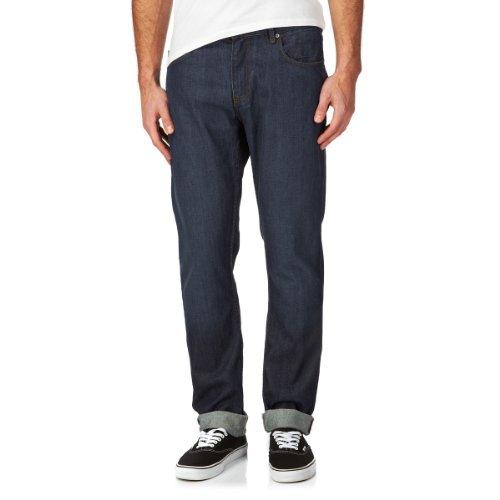 Dc Straight Up Indigo Rinse Jeans - Indigo Rinse