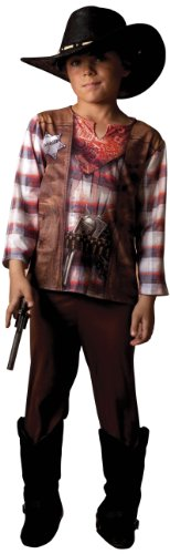 Cesar - B576-004 - Costume - Costume Complet (T-shirt + Pantalon) - Illusion Cow Boy - 6/7 ans