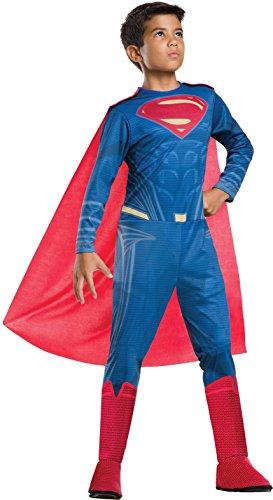 Rubie's Costume Co Justice League Child's Superman Costume, Large