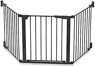 KidCo Baby Safety Gate Custom Fit Auto Close ConfigureGate in Black