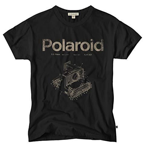 Vintage Polaroid Camera Patent T-Shirt, High Quality, S to XXL