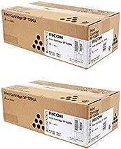 406911 Genuine Ricoh Toner Cartridge 2 Pack, 2600 Page-Yield Per Ctg, Black