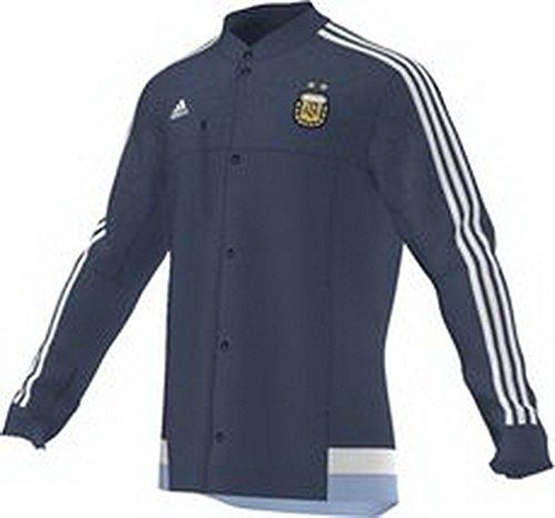 adidas AFA ARGENTINIEN Anthem Jacke blau Herren, Größe:XL