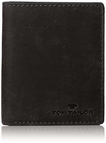 TOM TAILOR bags RON Herren Geldbörse one size, black, 10x2,5x12