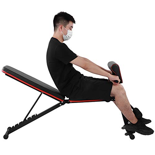 WLH 7 LVL-verstellbare Gewicht Bauchbank Sit-up Fitness-Hantel-Dummkopf-Taille Bänke