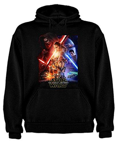 Sudadera de NIÑOS Star Wars Dark Vader Han Solo Fuerza Moul Leia
