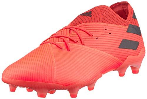 adidas Nemeziz 19.1 FG, Zapatillas de fútbol Hombre, CORSEN/NEGBÁS/ROJGLO, 40 EU