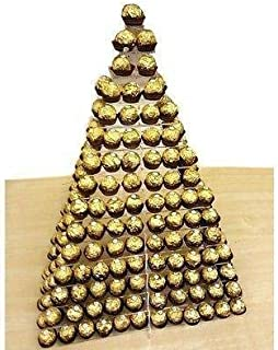 Cuadrado Ferrero Rocher Expositor por Super Cool Creación - Small - 5 Tier