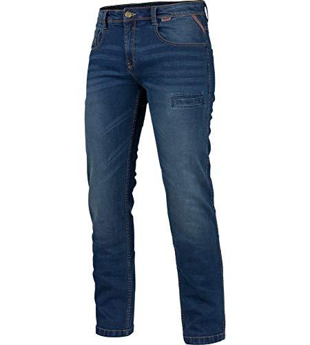WÜRTH MODYF Arbeitsjeans Stretch X blau: Die Bequeme Allwetter Arbeits-Jeanshose ist in der Größe 50 erhältlich. STYLISCH, MODERN, ZEITLOS!