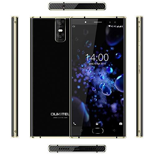 SUQIAOQIAO K3 PRO 4G RAM + 64GB Rom 5.5' FHD 16: 9 Display Telefono Mobile dello Schermo, Android 9.0 Carica 13 MP + 2MP + 13 MP + 2MP Cam 6000Mah 4G Cell Phone Rapida,Nero