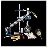 Equipo de laboratorio de vidrio químico de laboratorio, cristalería de...