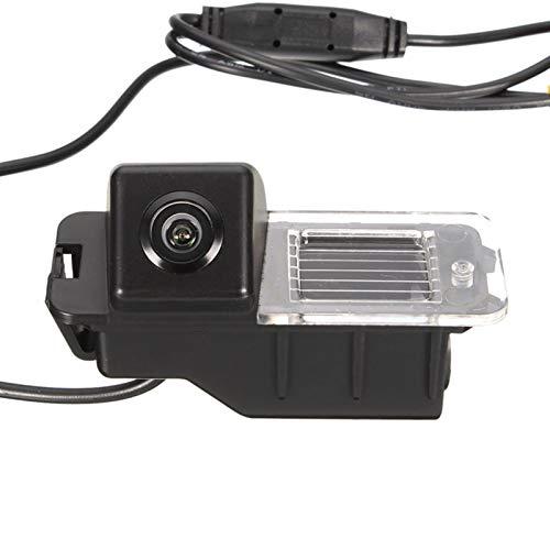 XIAOYAFANG Hxfang Coche Que invierte el estacionamiento cámara de visión Trasera for VW Golf MK6 GTI MK7 -Polo V (6R) Passat CC Ahora Caliente (Color Name : Black)