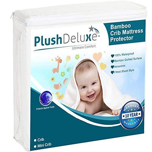 PlüschDeluxe Mini-Kinderbett-Matratzenschoner Produktbild