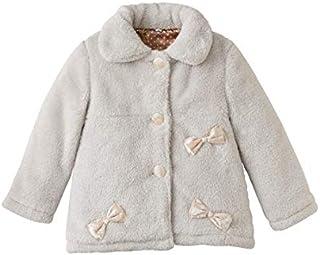 [nissen(ニッセン)] リボン付お出かけ コート 女の子 子供服 ジュニア服 女の子 キッズ ベビー ベージュ 150
