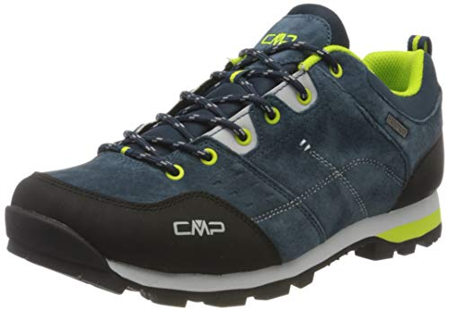CMP – F.lli Campagnolo Herren Alcor Low Shoes Wp Trekking-& Wanderhalbschuhe, Blau (Cosmo N985), 43 EU