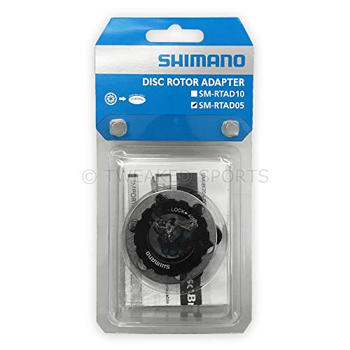 SHIMANO Centerlock to 6-Bolt Rotor Adapter Black, One Size