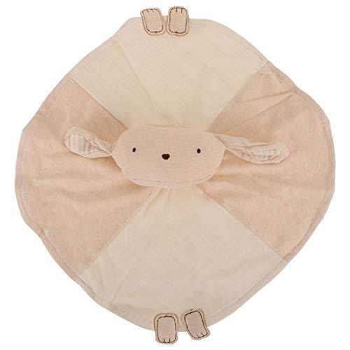 TOYANDONA Bebé de Peluche de Seguridad Blankie de Dibujos Animados de Conejo de Peluche de Juguete de Algodón Orgánico Recién Nacido Blankie Juguete de Alivio Recién Nacido Toalla de Saliva