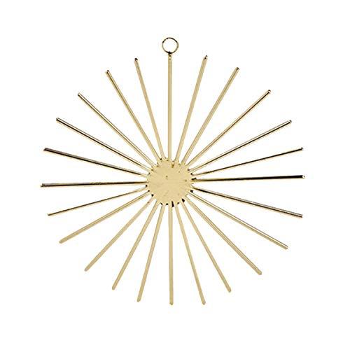 Lambert - Locaste - Christbaumschmuck, Baumschmuck, Anhänger - Gold - Stern - Dekostern - 1 Stück - Ø: 14 cm