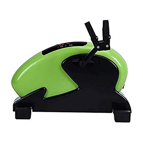 ZLQBHJ Máquinas de Step, Bajo Escritorio Bike Pedal Ejercition con Pierna Ajustable - Ciclo de Escritorio, Mini Ejercicio Bike Peddler para Hogar y Oficina