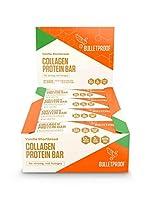 Bulletproof Vanilla Shortbread Collagen Protein Bar 12pk ブレッドプルーフ プロテインバー バニラショートブレッド コラーゲン 12本入り【海外直送品】 [並行輸入品]