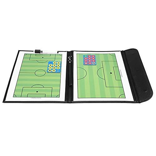 Bal Tactisch Bord Coaches klembord zoals een digitale Dry Erase Whiteboard Intuïtief en Duidelijke Uitdrukking (Color : Black, Size : One size)