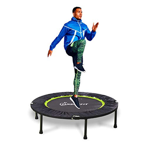 Jandecfit Foldable Fitness Trampoline 40' Fitness Rebounder for Indoor,...