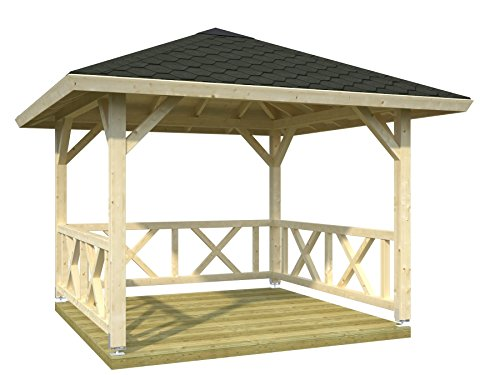 Palmako Pavillon Betty 9,0 natur