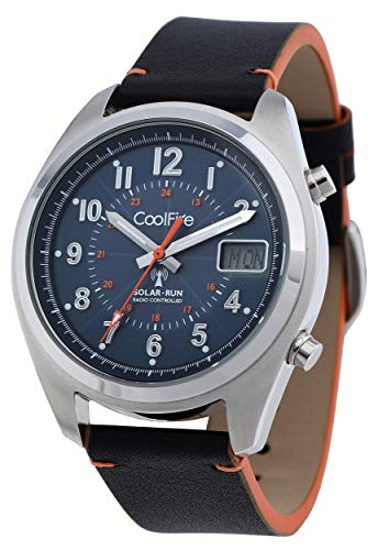 COOLFIRE I - Reloj Solar atómico. Reloj controlado por Radio Solar Militar (1534 A)