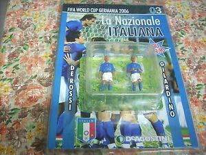 STATUINE FIFA World Cup Germany 2006 DE Rossi & GILARDINO Altezza 7 CM Circa Materiale Piombo