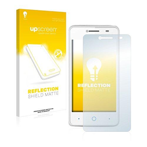 upscreen Entspiegelungs-Schutzfolie kompatibel mit ZTE Blade C341 – Anti-Reflex Bildschirmschutz-Folie Matt