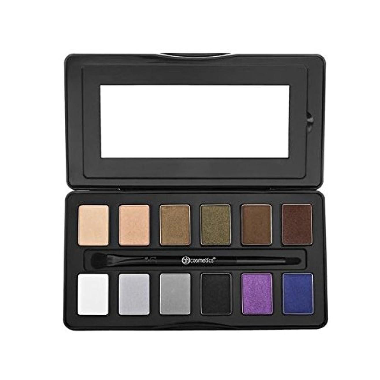 おめでとう健全激しいbhcosmetics ビーエイチコスメ アイシャドウ Nude Rose Night Fall - 12 Color Eyeshadow Palette