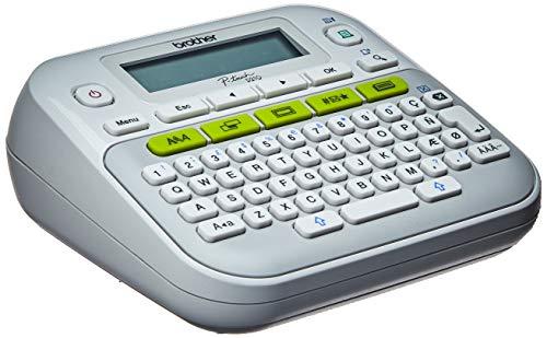 Rotulador Eletrônico de uso doméstico - PTD210 Brother, Branco