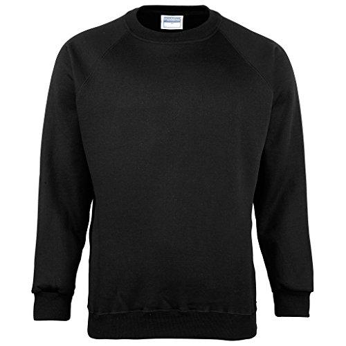 MAKZ - Sweat-Shirt - Manches Longues - Homme - Noir - XXX-Large