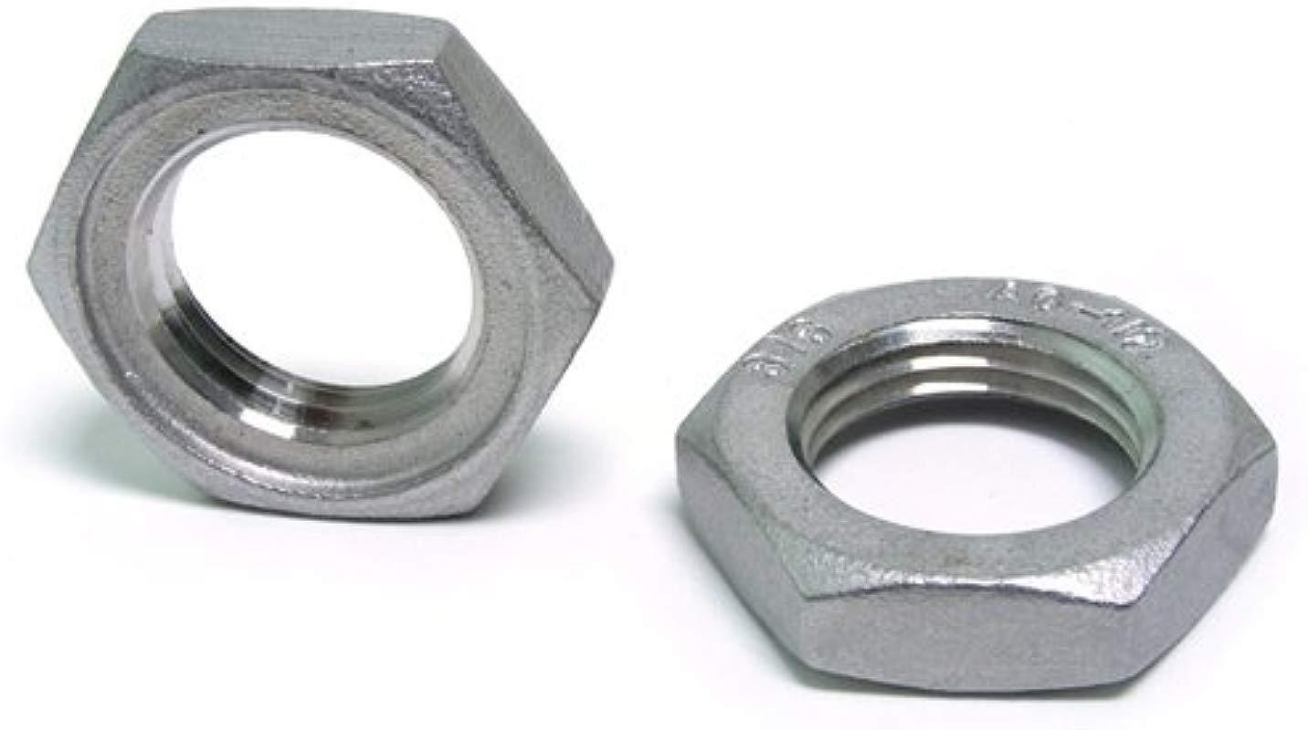 1 2 NPT Lock Nut Stainless Steel