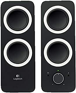 Logitech Z200 2.0 Multimedia Speakers - Black