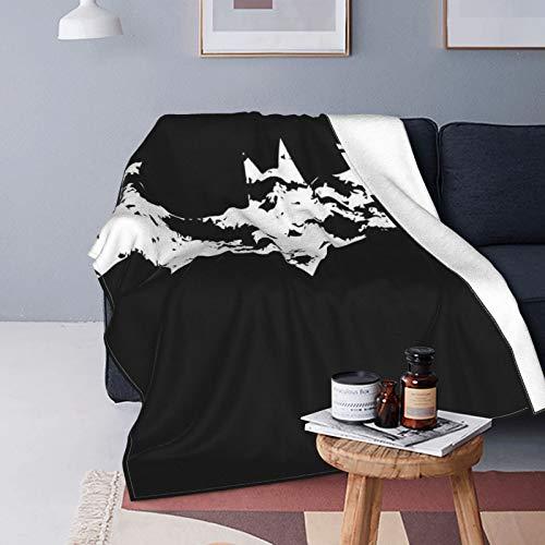 Why So Serious Joker Batman, manta para sofá cama, manta de forro polar, abrazo y cómodo