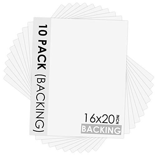 Uncut Photo Mat Board Poster Palooza Soft Pink 16x20 Backing Board