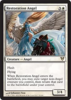 Magic: the Gathering - Restoration Angel (32) - Avacyn Restored - Foil